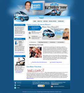 Integrity Automotive Repair Receives Top Ten Website Award