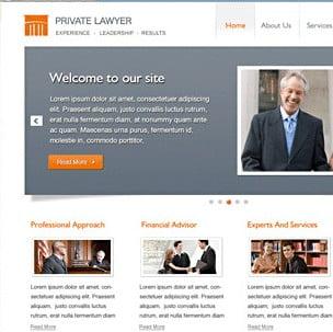 WordPress Law Firm Template