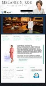 Melanie N. Roe Website Design By SimcoMedia