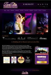 DJ Kona Dance design by SimcoMedia Web Design