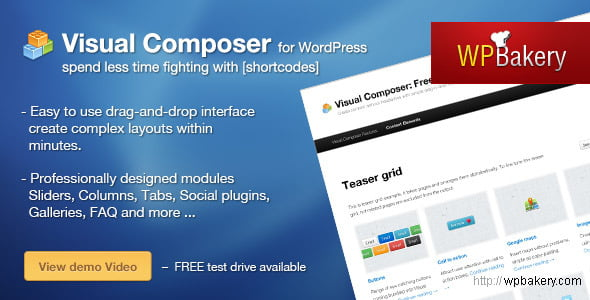 Try Visual Composer For WordPress