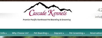 Cascade Kennels Redesign Complete
